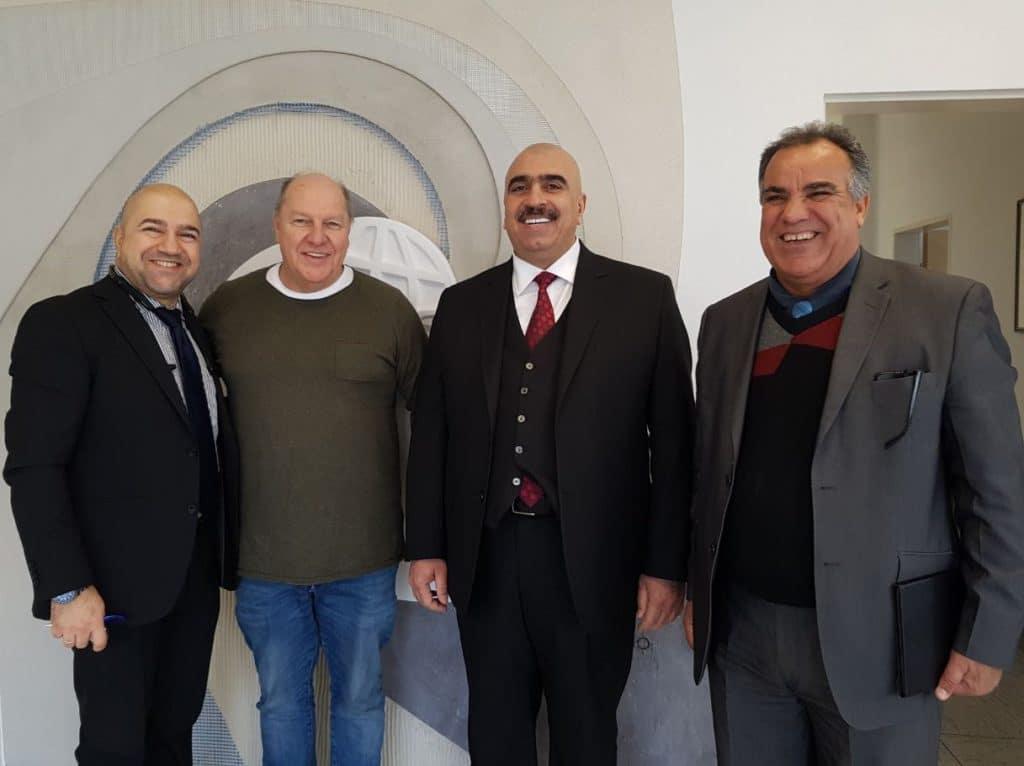 201803Irak Delegation 1024x766 - Rebuilding Irak – MIG meets Iraqi contruction company