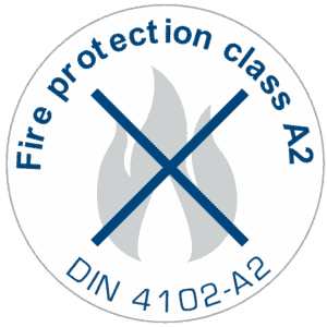 fire protection class A2 300x300 - MIG-ESP® the DHMb® Lining System