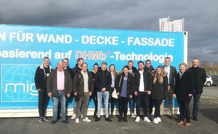 FHM Bielefeld visits the MIG
