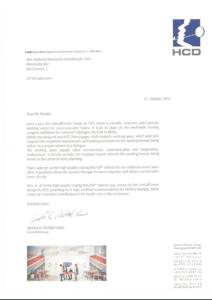 HCD Referenzschreiben MIG EN