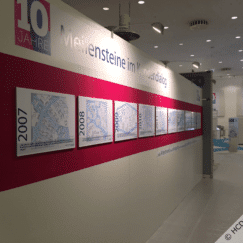 MIG-ESP exhibition stand Info-Wall-a