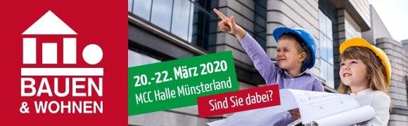 MIG mbH auf Messe Münster Bauen und Wohnen